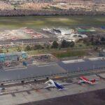 Aeropuerto El Dorado - Bogotá - Colombia.