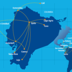 Mapa de Rutas TAME