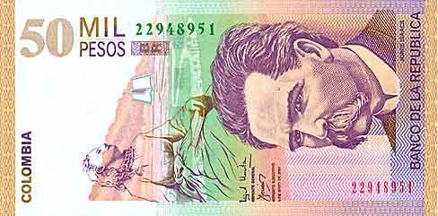 La moneda colombiana